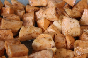 Sauced up Sweet Potatoes